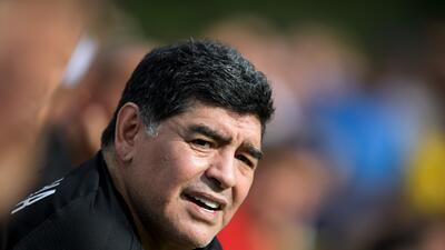 """Maradona carga contra Sampaoli: """"Jugando así no puede volver a Argentina"""""""