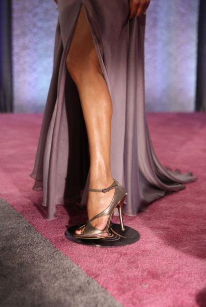 Aquí la muestra de que ¡sí hay pierna!