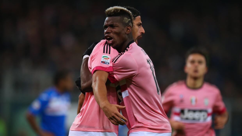 Juventus vence a Sampdoria y ya es segundo