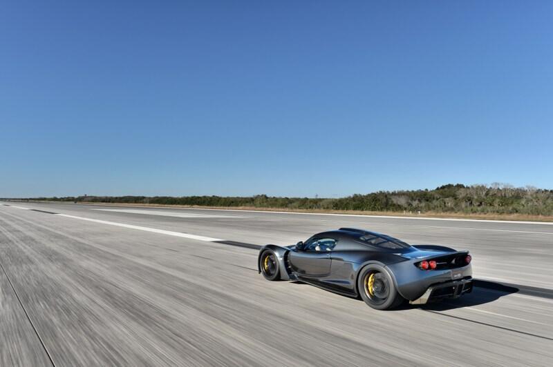 Puesto 1: el Hennessey Venom GT se ubica al tope de las posiciones. Este...
