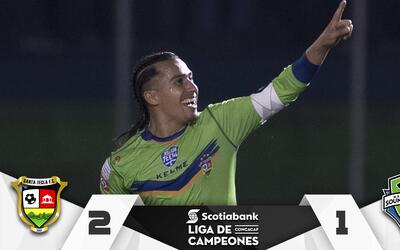 Santa Tecla venció a Seattle Sounders