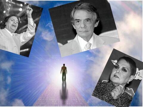 Estos famosos un día vencieron a la muerte