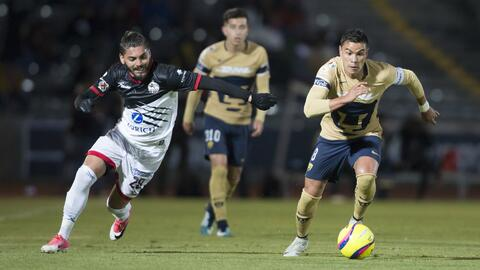 Pumas aguantó el empate por 84 minutos y al final se fue con la derrota.