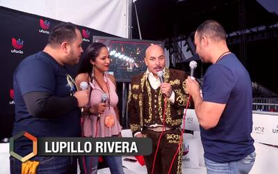 Lupillo Rivera exaltó a los latinos a unirse para hacer sentir su fuerza...