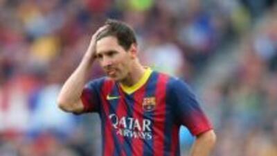 Messi salió abucheado del Camp Nou.