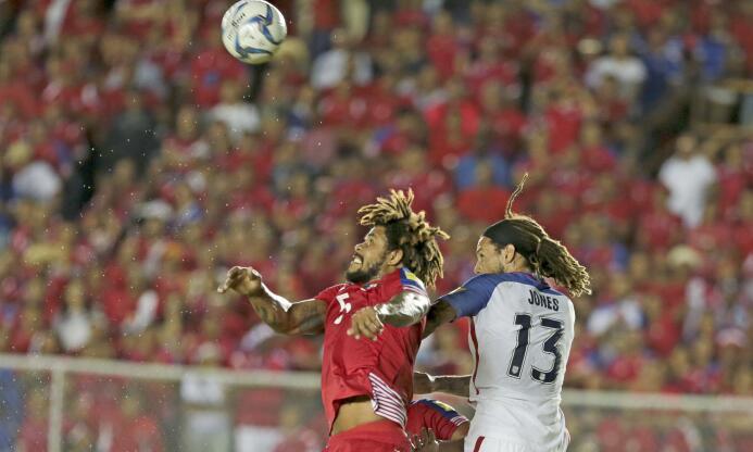 Estas son las imágenes más impactantes del 1-1 entre Panamá y el Team US...