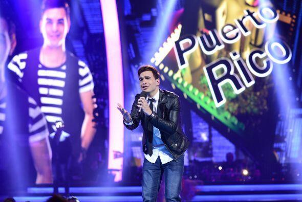 "Víctor Robles, de Puerto Rico, conmovió con ""Yo te extrañaré""."