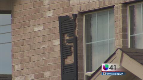 Tormenta de granizo, deja daños millonarios en San Antonio
