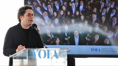 Centro 'Yola', el nuevo espacio de apoyo de para cientos de jóvenes músicos en Inglewood