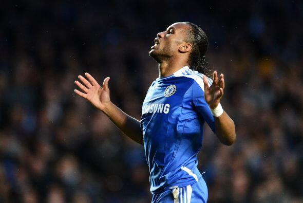 El esquema de los 'Blues' fue claro, apostar al contragolpe con Didier D...