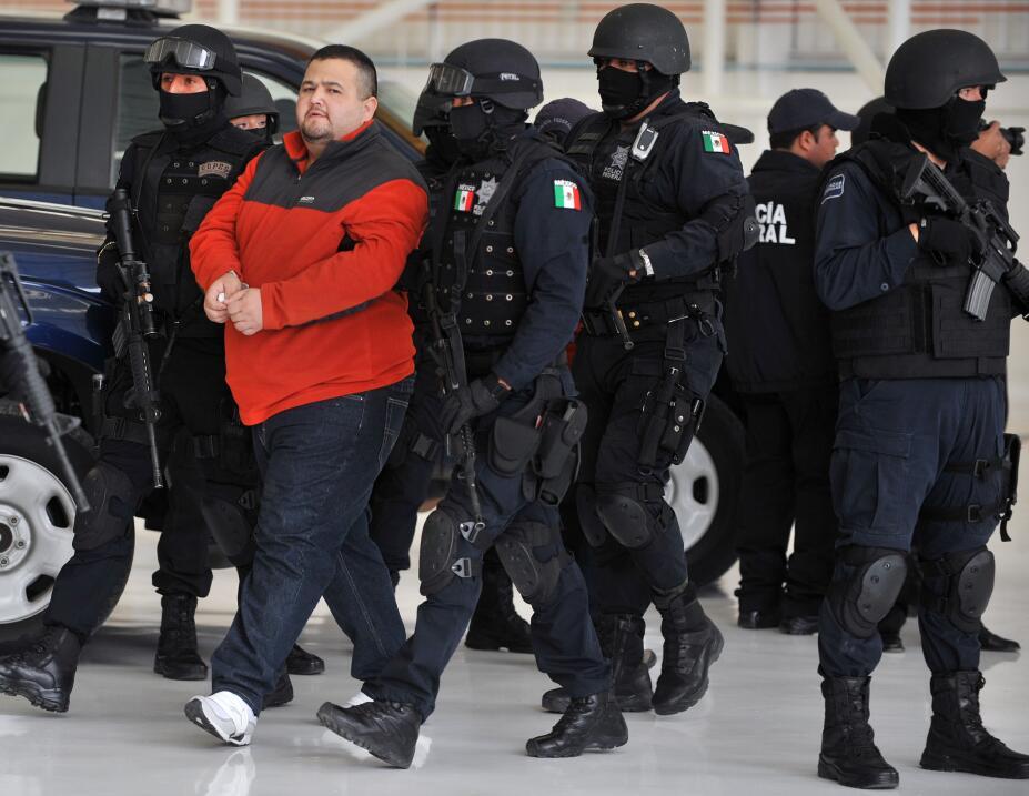 Teodoro García Simental 'El Teo', arrestado el 12 de enero de 2010.