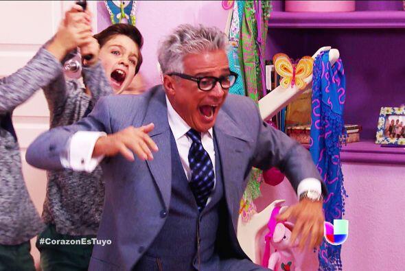 ¡Ahhh! Los tremendos gemelos aún no saben que Bruno volvi&o...