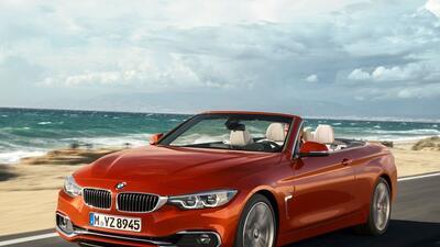 Este es el nuevo BMW Serie 4 Convertible 2018