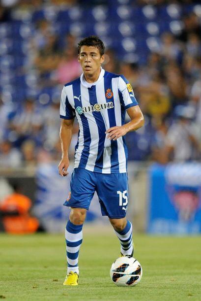 Moreno fue amonestado con el Espanyol y resultó con amarilla, el marcado...