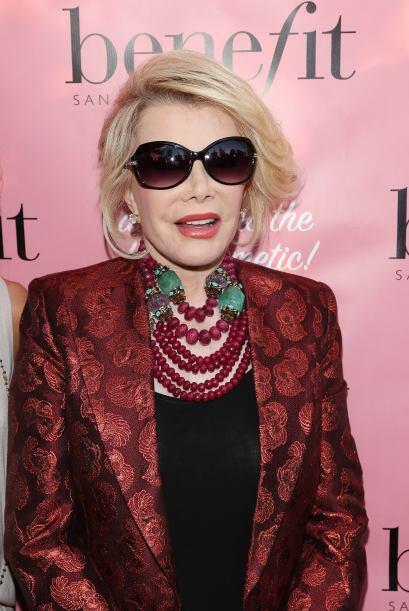 Rivers decidió lanzar una colección de joyas a la que llamó The Joan Riv...