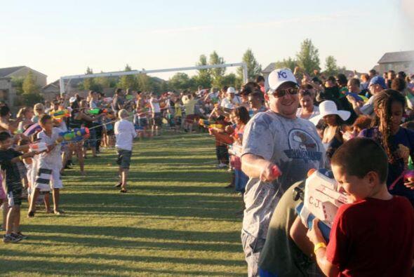 Los organizadores del evento llevado a cabo en Maricopa, Arizona, durant...