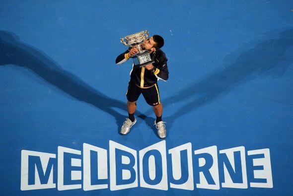 En enero se llevó el primer Grand Slam del año, el Abierto de Australia...