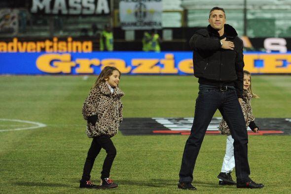 Y antes de salir del campo de juego dejó bien claro que lleva al Parma e...
