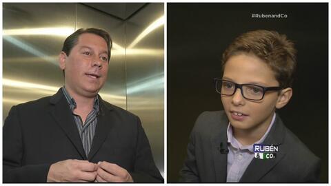 André atrapó a Juan Dalmau en el elevador