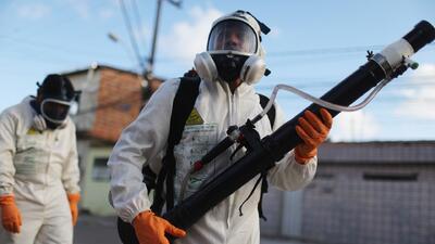 Siguen en aumento los casos de zika