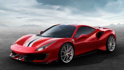 Ferrari 488 Pista promo