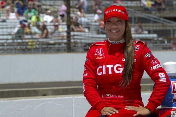 Milka Duno volvió a representar a Venezuela en la Indy 500, pero nuevame...