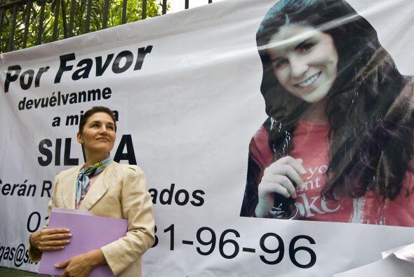 Silvia Escalera, madre de Silvia Vargas Escalera -secuestrada el 10 de s...