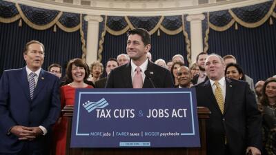 Paul Ryan insistió este jueves que la reforma de impuestos impulsará el...