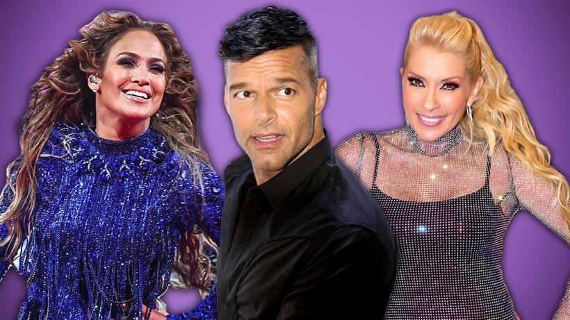 Yuri, Ricky Martin, J Lo y Gloria Estefan: las fotos que quisieran olvidar