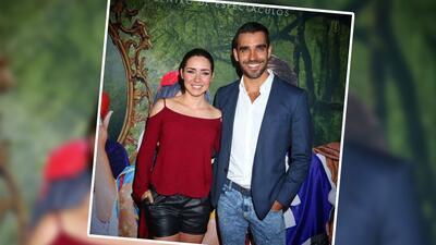 Ariadne Díaz y Marcus D'Ornellas