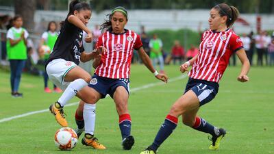 Tabla de posiciones de la Liga MX Femenil, tras la Jornada 5