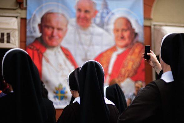 Con ellos se alcanza el punto final de un reglado proceso de canonización.