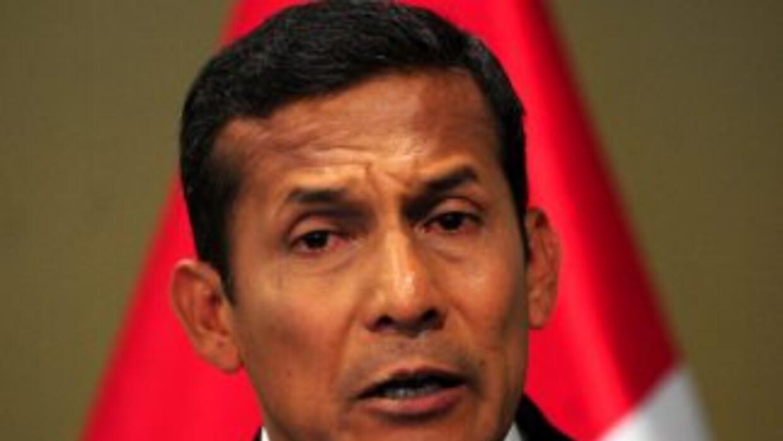 El candidato izquierdista Ollanta Humala negó que el gobierno venezolano...
