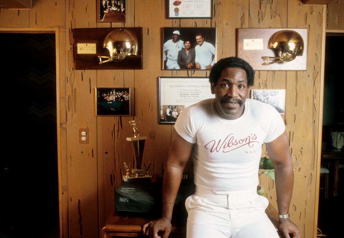 Figuras del deporte que han aparecido en el cine mundial Bubba Smith.jpg