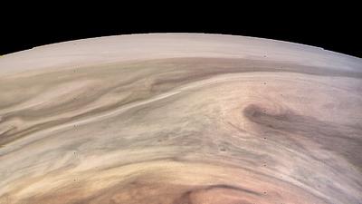 En Fotos: Impresionantes imágenes de la Gran Mancha Roja de Júpiter