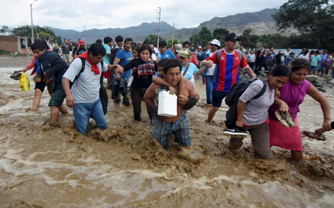 Inundación Peru