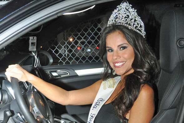 Miss República Deportiva 2011 nos aseguró que los conductores de Houston...
