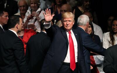El discurso del presidente Donald Trump sobre la política hacia Cuba des...