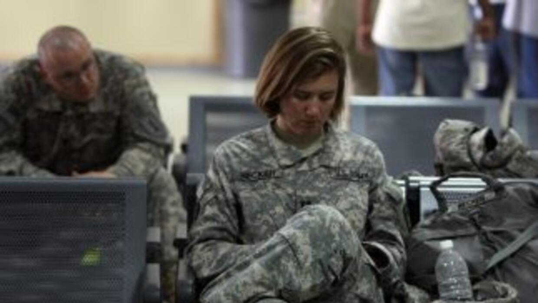 Unos 90,000 soldados han regresado de Irak desde que Barack Obama asumió...