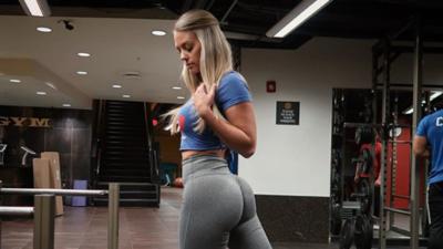 Ashleigh Jordan y sus espectaculares resultados en el gimnasio