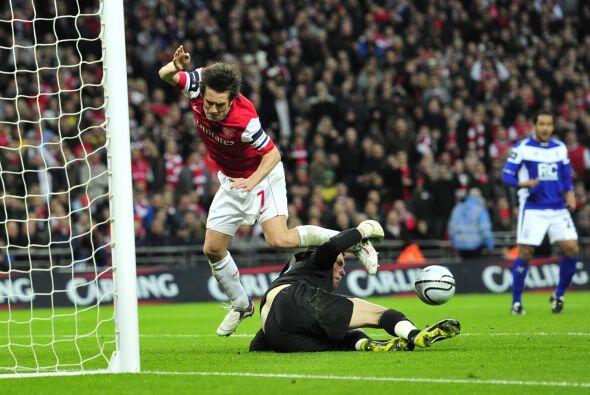 Foster fue una muralla para el Arsenal, que además de sus errores no pod...