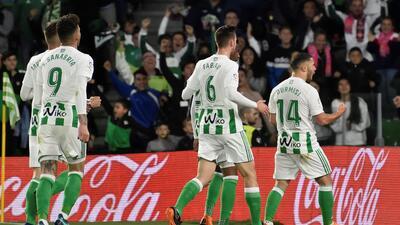 En fotos: con pase gol de Guardado, Betis venció 2-1 a Málaga y clasificó a Europa League