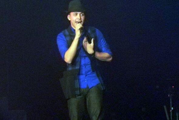 """Royce le puso mucho sentimiento al momento de cantar """"Yo te ame"""" y su le..."""