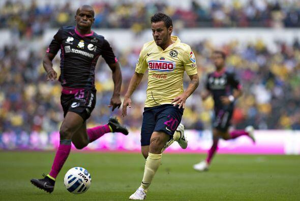 Gonzalo Díaz: El delantero del América tuvo un torneo discreto en gran p...