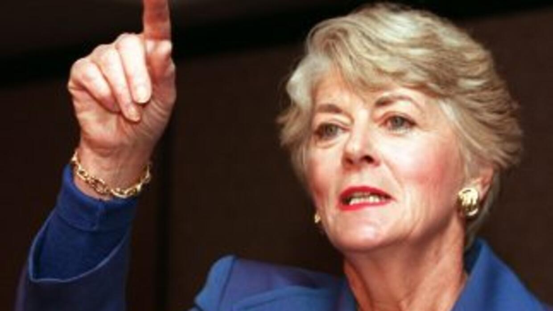 Geraldine Ferraro, primera mujer en aspirar a vicepresidencia de EU, mur...