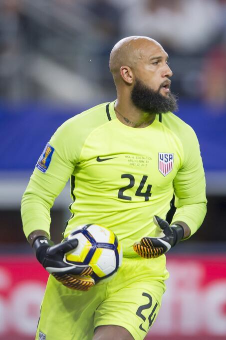 Estados Unidos es finalista de la Copa de Oro 2017 Tim Howard.jpg