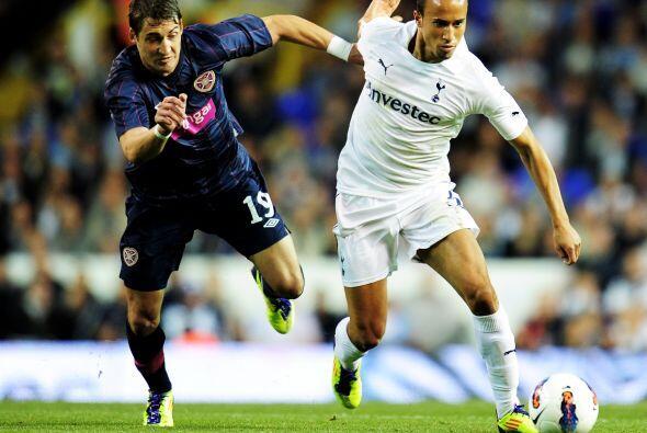 El Tottenham ya había goleado 5-0 en la Ida al Heart of Midlothia...