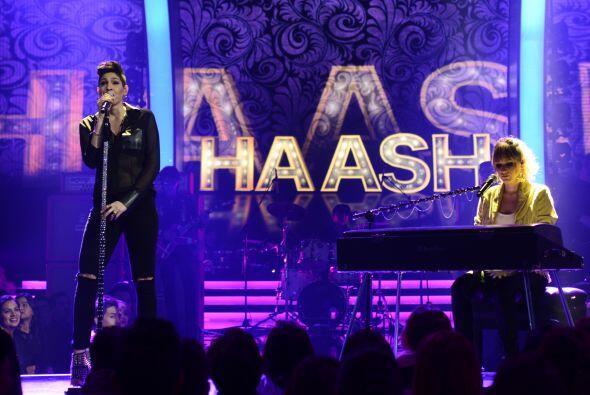 Las chicas de Ha-Ash, invitadas para reemplazar a Dulce María por la sem...