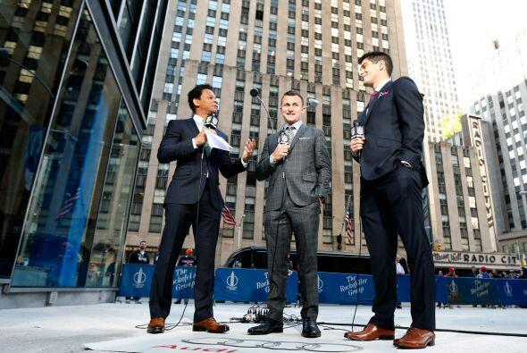 Los prospectos del Draft 2014 han llegado a la Gran Manzana y están toma...