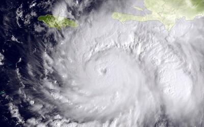 ¿Cuáles son las partes y el cuadrante más activo de un huracán?